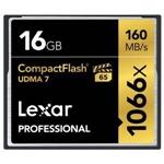 Lexar Professional 1066x 16GB 160MB/s - Tarjeta Compact Flas