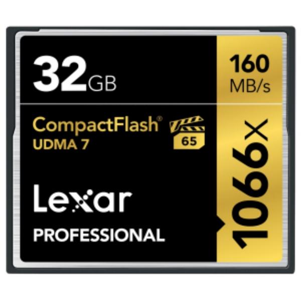 Lexar Professional 1066x 32GB 160MB/s – Tarjeta Compact Flas