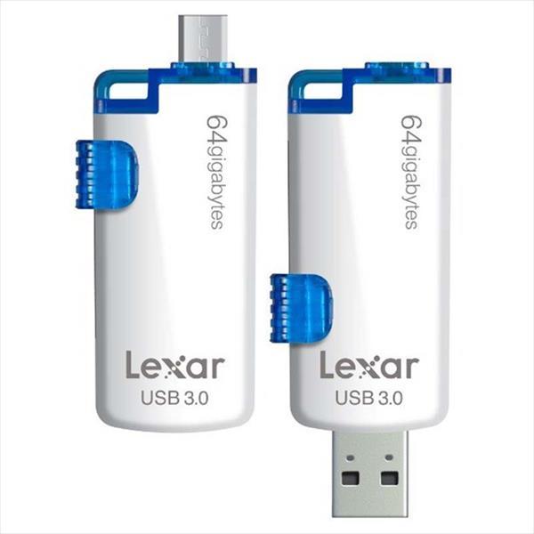 Lexar JumpDrive M20c USB-C + USB 3.0 16GB – Pendrive