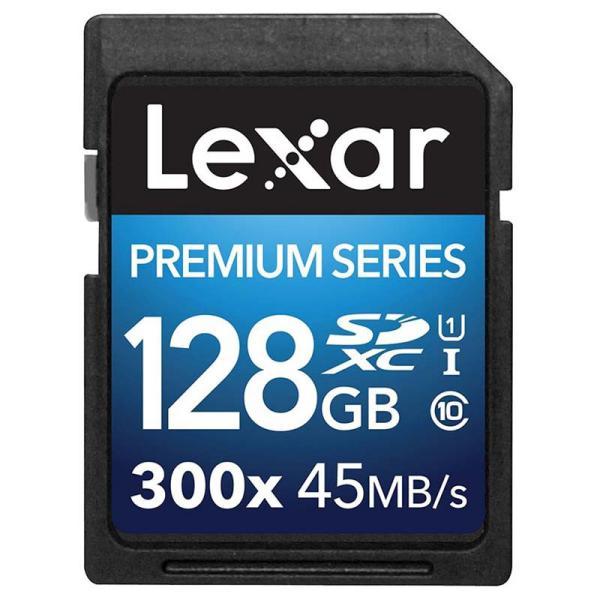 Lexar Premium II 128GB 300x  Tarjeta SD