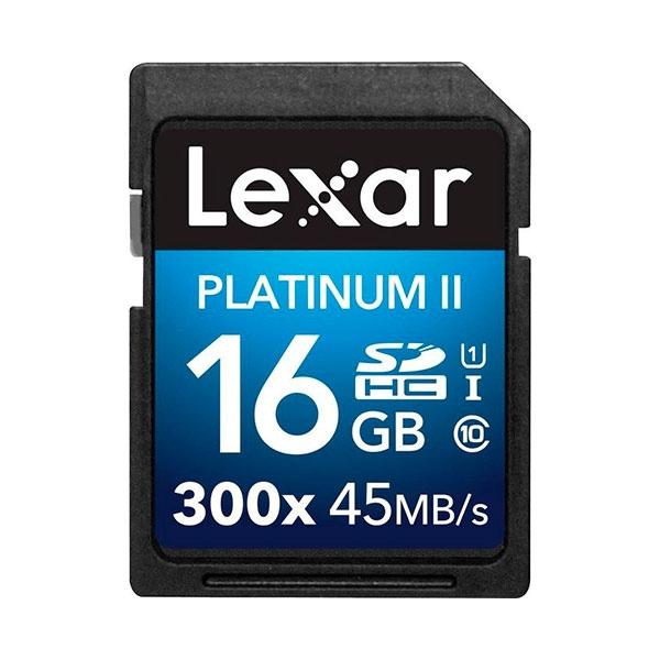 Lexar Premium II 16GB 300x – Tarjeta SD