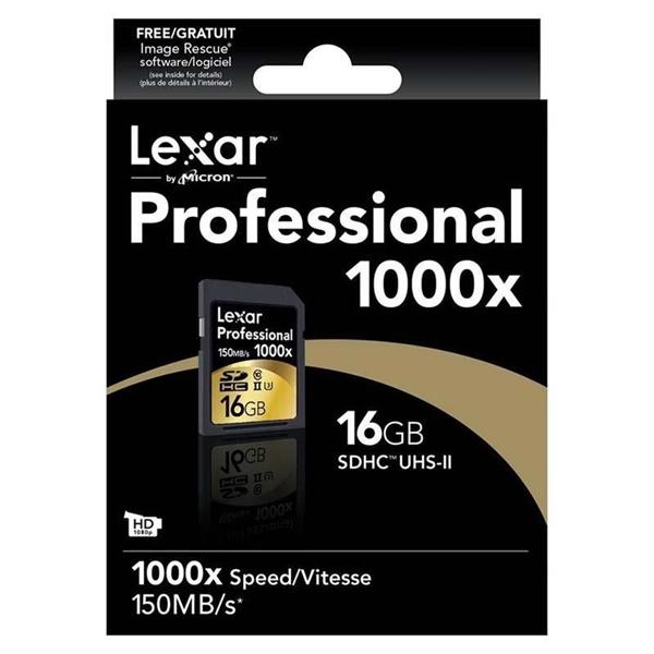 Lexar Professional 1000x 16GB 150MBs  Tarjeta SD