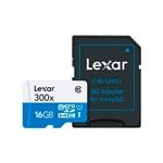 Lexar 300x 16GB con adaptador  Tarjeta MicroSD