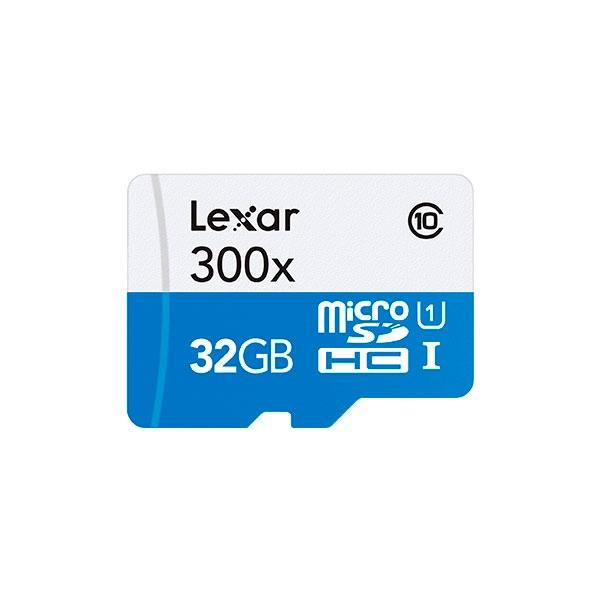 Lexar 300x 32GB con adaptador  Tarjeta MicroSD