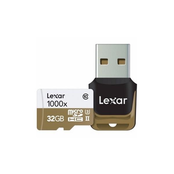 Lexar Professional 1000x 32GB 150MB/s – Tarjeta MicroSD