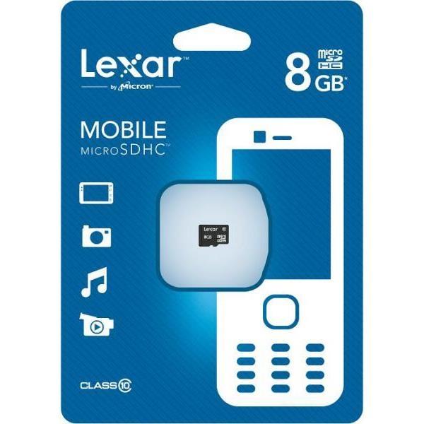 Lexar 8GB – Tarjeta MicroSD