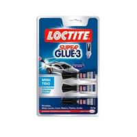 Loctite Superglue3 Mini Trio  Adhesivo