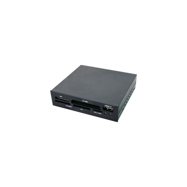 "LogiLink Cardreader 3,5"" USB 2.0 All-in-1+USB"