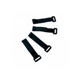 Logilink 10 bridas textiles velcro para cable negro