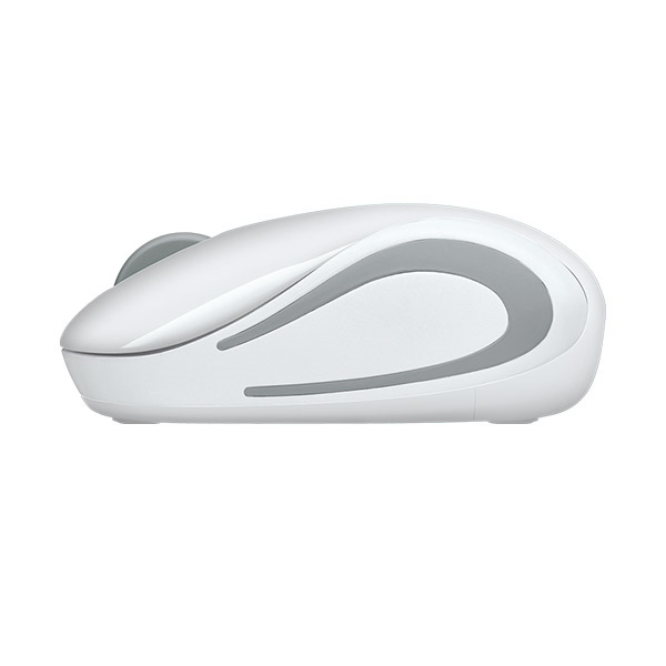 Logitech M187 blanco Wireless - Ratón