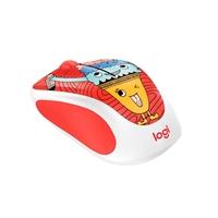 Mouse logitech m238 optico wireless doodle collection triple