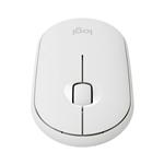 Logitech Pebble M350 Óptico Bluetooth Blanco Crudo  Ratón