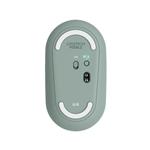 Logitech Pebble M350 Óptico Bluetooth Eucalipto  Ratón
