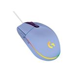 Logitech Gaming Mouse G203 LightSync 8000dpi Lila  Ratón