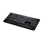 Logitech K800 Illuminated Wireless - Teclado