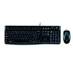 Logitech Desktop MK120 Inglés UK  Kit teclado y ratón