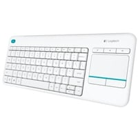 Logitech K400 Plus blanco Wireless  Teclado