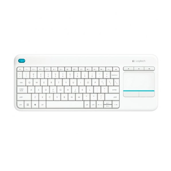 Logitech K400 Plus blanco Wireless - Teclado