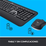 Logitech MK540 Wireless - Kit teclado y ratón