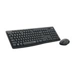 Logitech Silent Touch MK295 Grafito  Kit de teclado y ratn