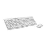 Logitech Silent Touch MK295 Blanco  Kit de teclado y ratn