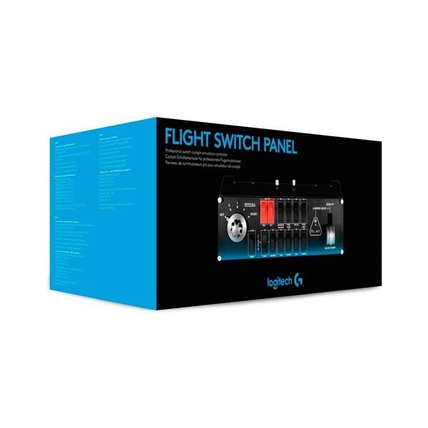 Logitech Pro Flight Switch  Panel de Mandos de Vuelo