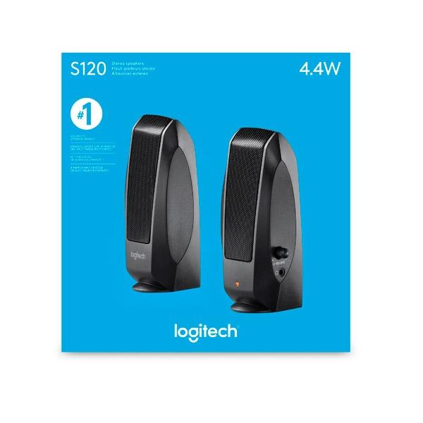 Logitech S120  Altavoces
