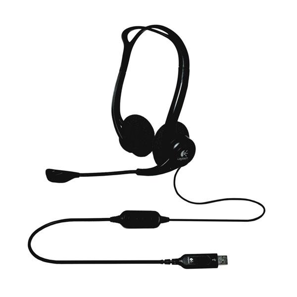 Logitech PC Headset 960 USB - Auricular