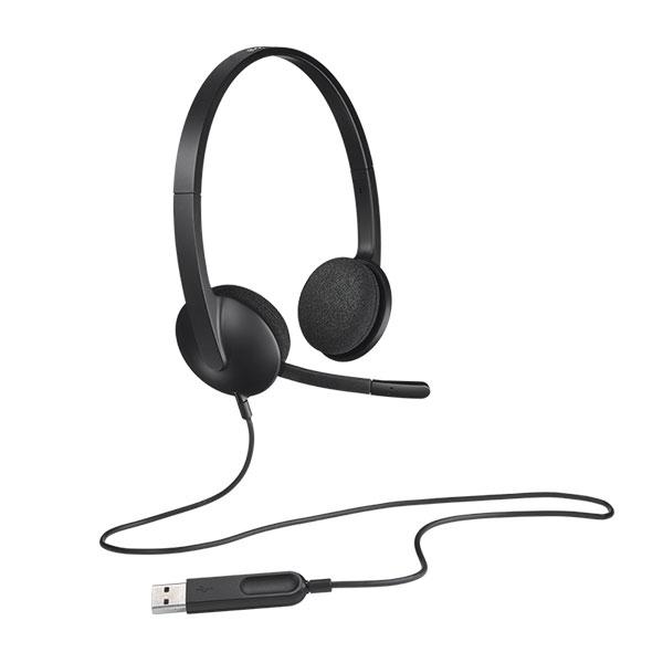 Logitech USB Headset H340  Auricular