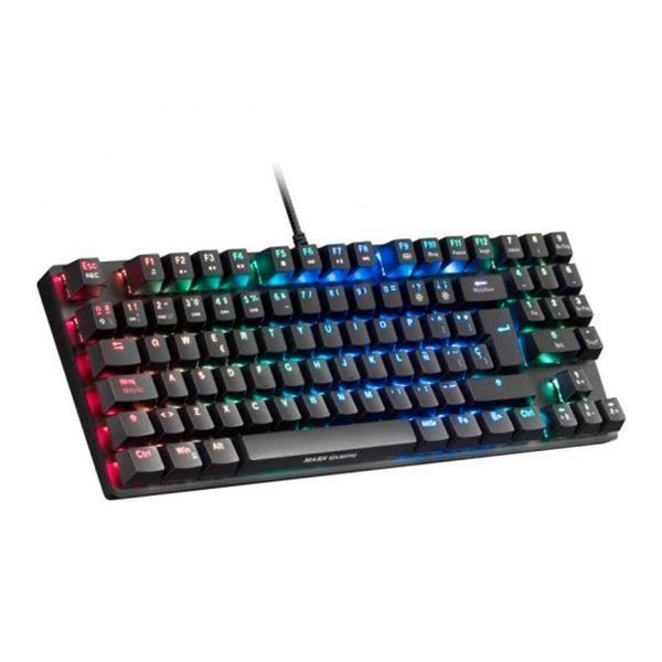 Mars Gaming MKREVOPRO TKL RGB Red  Teclado