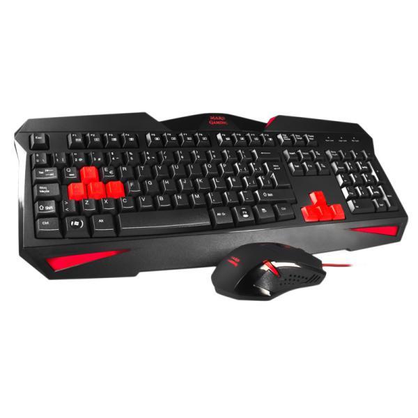 Tacens Mars Gaming MCP1 – Kit de teclado y ratón
