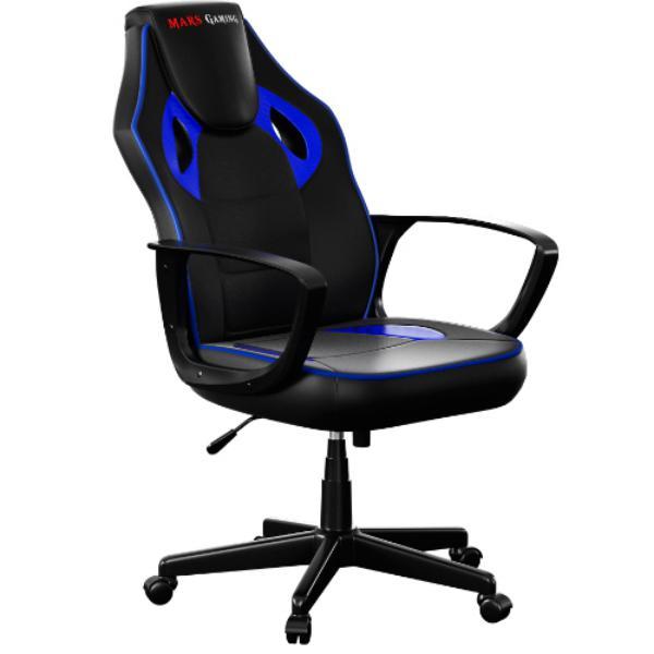 Mars Gaming MGC0BBL negro  azul  Silla