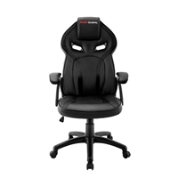 SILLA GAMER  MARS GAMING MGC118BK COLOR NEGRO  ASIENTO