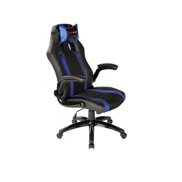 Tacens Mars Gaming MGC2BBL negra  azul  Silla