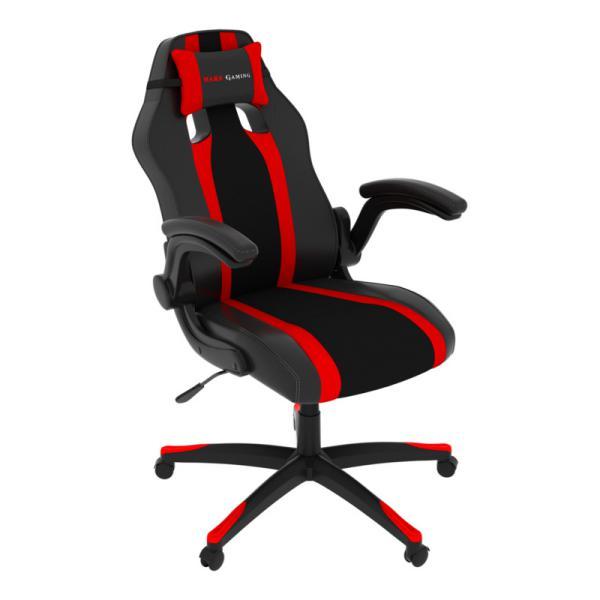 Tacens Mars Gaming MGC2BR negra  roja  Silla