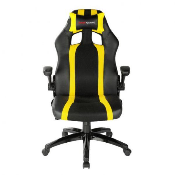 Tacens Mars Gaming MGC2BY negra  amarilla  Silla