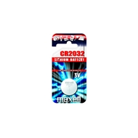 Blister maxell pila boton litio cr2032 3v / unidad