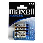 Maxell Pack 4 pilas alcalinas AAA LR03-B4 - Pilas