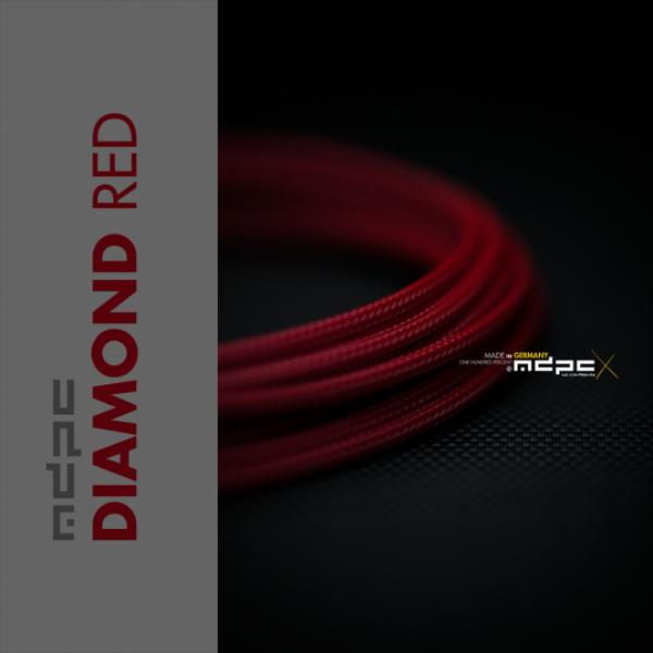 MDPCX Rojo Diamante 1m grosor de 1778mm  Funda de cable