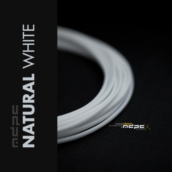 MDPC-X Blanco Nat. 1m grosor de 1,7-7,8mm – Funda de cable