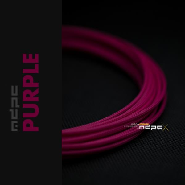 MDPC-X Púrpura 1m grosor de 1,7-7,8mm – Funda de cable