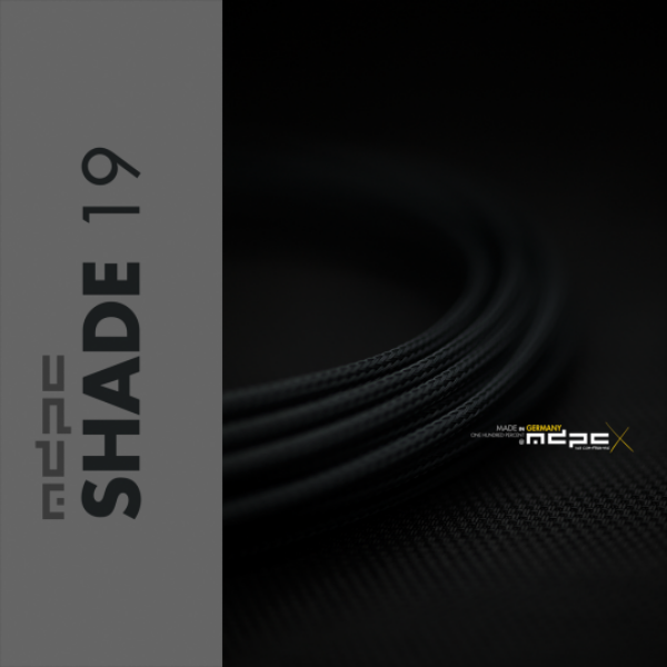 MDPC-X Gris Sombra 1m grosor de 1,7-7,8mm – Funda de cable