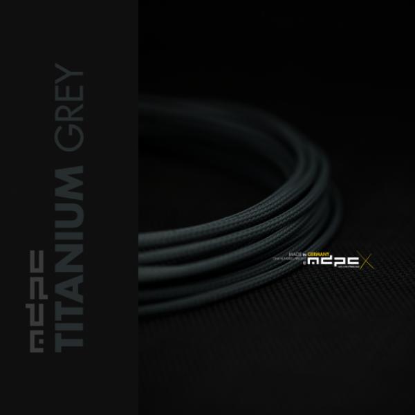 MDPCX Gris Titanio 1m grosor de 1778mm  Funda de cable