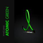 MDPCX Verde Atómico UV 1m  Funda de cable SATA