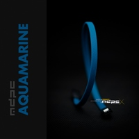 MDPCX Azul Agua MK2 1m  Funda de cable SATA