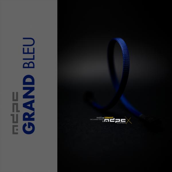 MDPCX Azul Marino 1m  Funda de cable SATA