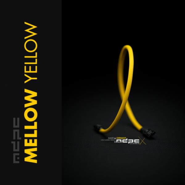MDPC-X Amarillo Miel 1m – Funda de cable SATA