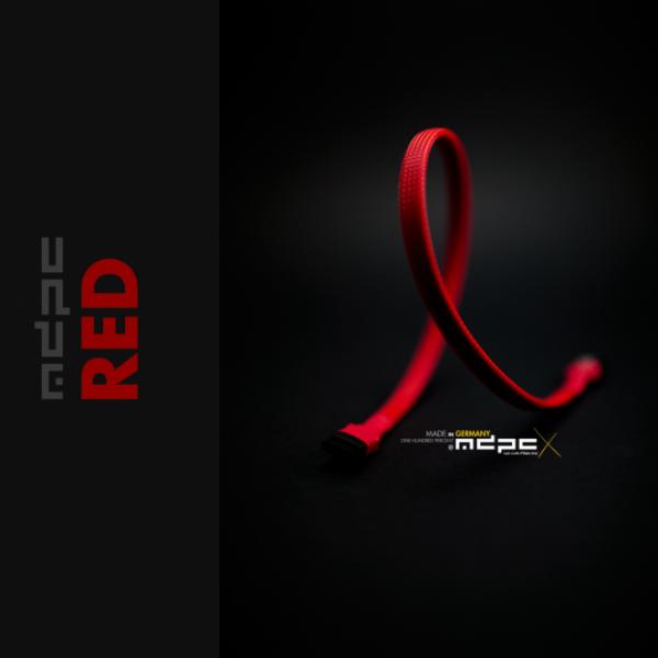 MDPCX Rojo 1m  Funda de cable SATA