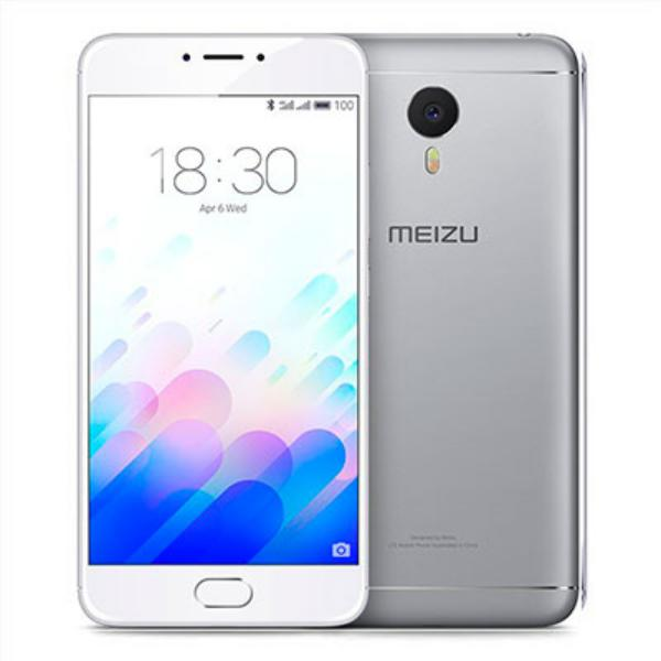 Meizu M5 Note 55 3GB 16GB Plata  Smartphone
