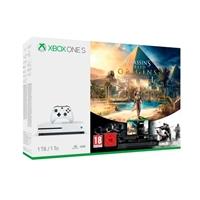 Microsoft Xbox One S 1TB  Assassins y Rainbox Six  Consola